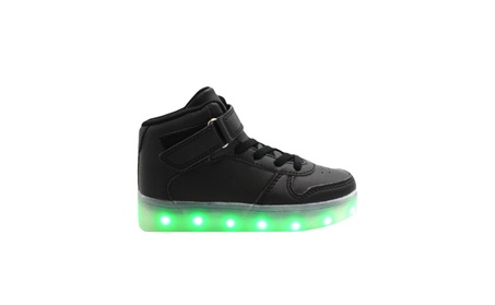 Galaxy LED Shoes Light Up USB Charging High Top Kids Sneakers 1c161282-4bb9-4e2f-8b3f-66a63bb95d59