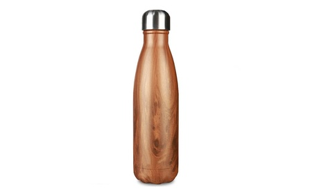 17 Oz (500 ml) Vacuum Insulated Water Bottle Stainless Steel d5cab3e7-4c9f-4585-84c8-2e2eaabe881f