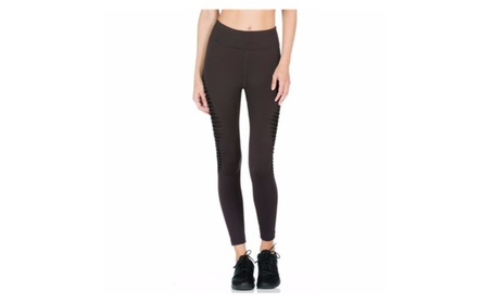 Black Cut Out Transparent Women's Leggings Printed Yoga Pants Workout b60bb832-8233-45cd-969a-723dcba22d6f