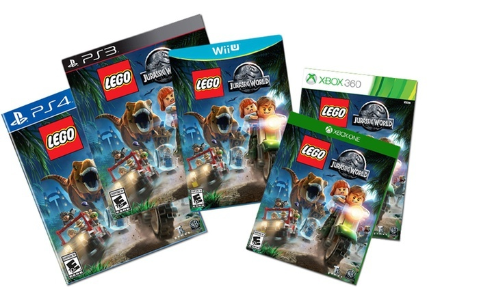 New Lego Games For Ps3 : Lego jurassic world video game for ps ps vita xbox one