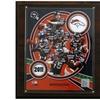 """NFL 12""""x15"""" Denver Broncos 2011 Team Plaque"""
