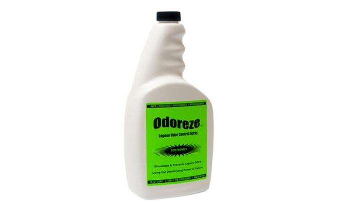 ODOREZE Natural Lagoon Odor Control Eco Spray: Makes 64 Gallons