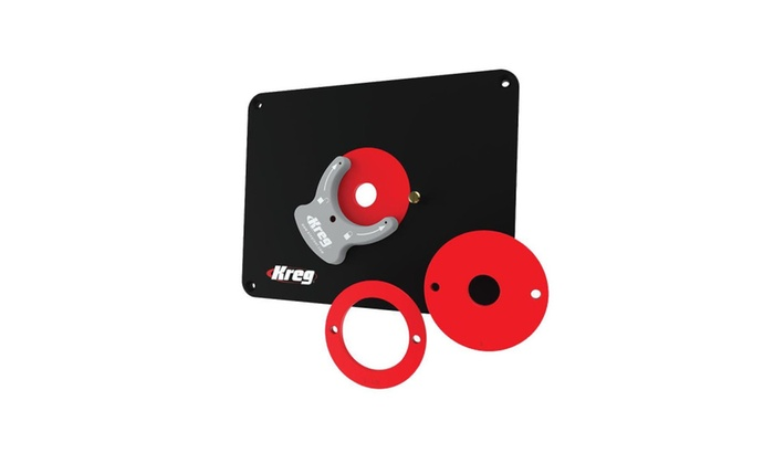 Kreg precision router table insert plate w level loc rings groupon kreg precision router table insert plate w level loc rings keyboard keysfo Image collections