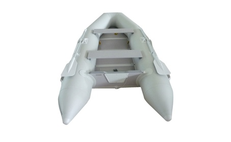 New 1.2mm PVC 10.5' Inflatable Boat Tender Raft Dinghy With Floor Gray a8eff79b-93ba-4495-a908-b7817a1a543b