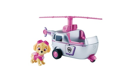 Paw Patrol Skye's High Flyin' Copter, Vehicle and Figure 75b838a1-01e2-4aec-8b52-ea119d04fb46