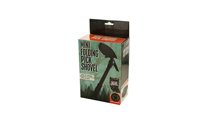 Mini Folding Pick Shovel with Compass