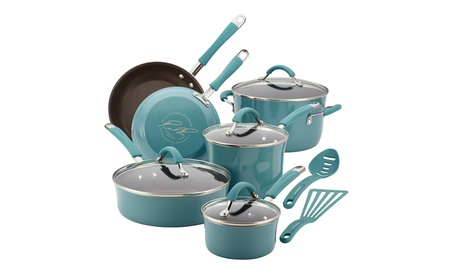 Rachael Ray Cucina Hard Porcelain Enamel Nonstick Cookware 12-Piece 1a8d26b4-3bf3-428f-bbc4-5ceca0ff9538
