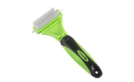 Pet Dematting Comb with 2 Sided Professional Grooming Rake 17b5fa6e-e41a-4dd8-80e2-ed2bb896fe78