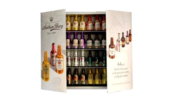 Anthon Berg Chocolate Liqueurs With Original Spirits In 64
