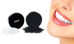 Amore Activated Charcoal Teeth Whitening Powder