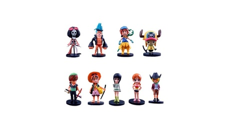 Q version of the One Piece Action Figures as a set 8945f6c0-f31b-4f20-8ba8-8d4c217cbdb1