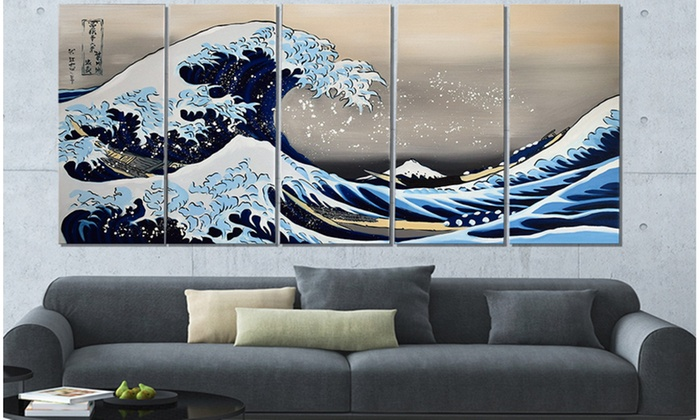 Up To 60% Off on Gallery-Wrapped Large Wall Art | Groupon Goods