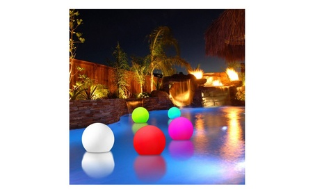 Color Changing Floating LED Glowing Sphere w/ Remote Control