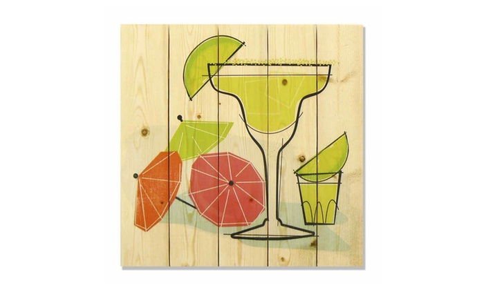 Wile E Wood Whrm1717 17 X Summer Margaritas Art