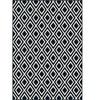 """Orian Rugs Sonoma Indoor/Outdoor Trellis Catalina Blue Area Rug (5'2"""" x 7'6"""")"""