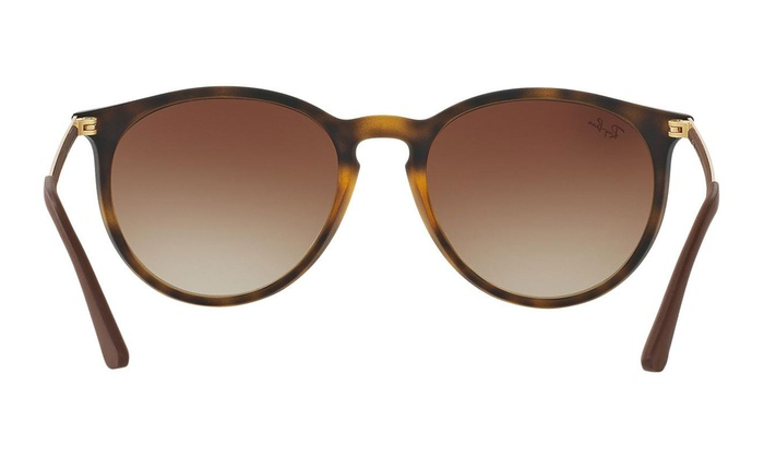 03f9127a59 Ray Ban Erika RB4274 856 13 Tortoise Gold Brown Frame   Brown Gradient