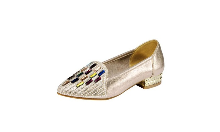 Women's Ladies Casual Slip on Flats Shoes