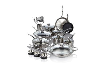 Wolfgang Puck Bistro Elite 27-piece Cookware Set - Refurbished 2532e041-8e3a-4fb7-8acd-0a1528a59a87
