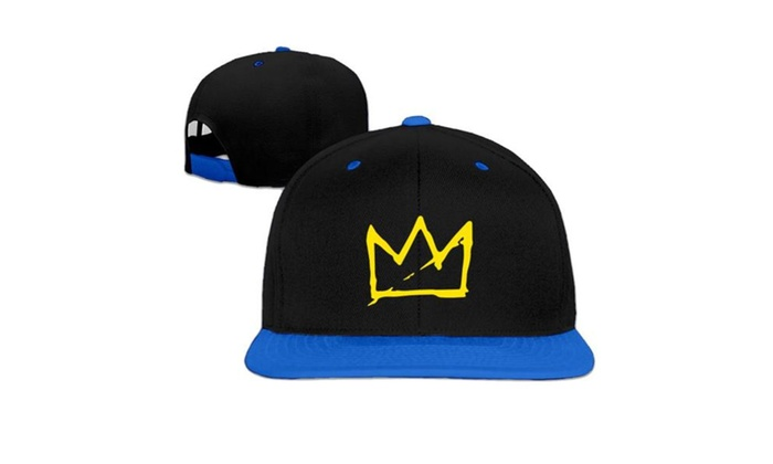 Basquiat Crown Snapback Baseball cap hip hop hat (5 colors)  503e9fddef87