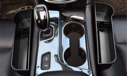 iMounTEK (2 Pack) Car Console Side Organizer, Seat Gap Storage, Non-Slip
