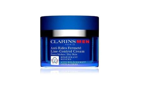 Clarins Men Line-Control Cream for Dry Skin (1.7 Fl. Oz.)