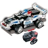 UniBlock Remote Controlled RC Building Block Police Car High Speed