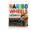 Haribo Licorice Wheels Gummi Candy, 12 Count/5 Ounce (Pack of 6)