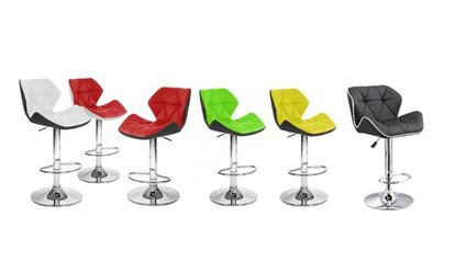 image for Spyder Contemporary Adjustable Barstool