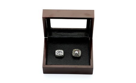 NHL 1996 And 2001 Colorado Avalanche Stanley Cup Championship Rings e5df86d4-af4a-4d1b-90bd-609c4d0902a8