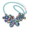 Acrylic Flower Choker Collar Charm Pendant Necklace for Women