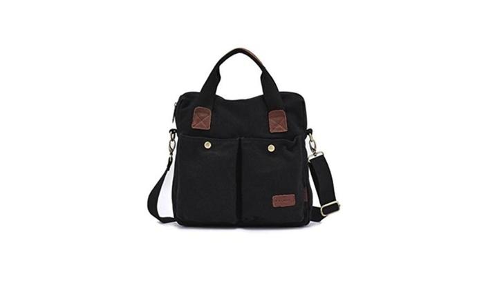 RYLT Men's Canvas Bag Messenger Bag Business Shoulder Bags