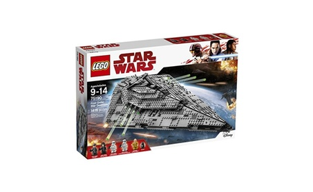 LEGO Star Wars First Order Star Destroyer 75190 Building Kit 01a8e6cc-71d7-4ce9-b865-c55933811938