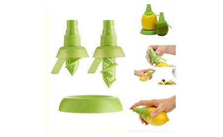 Bonavita Lemon Lime Citrus Spray Fresh Juice Extractor Sprinkler 2pcs photo