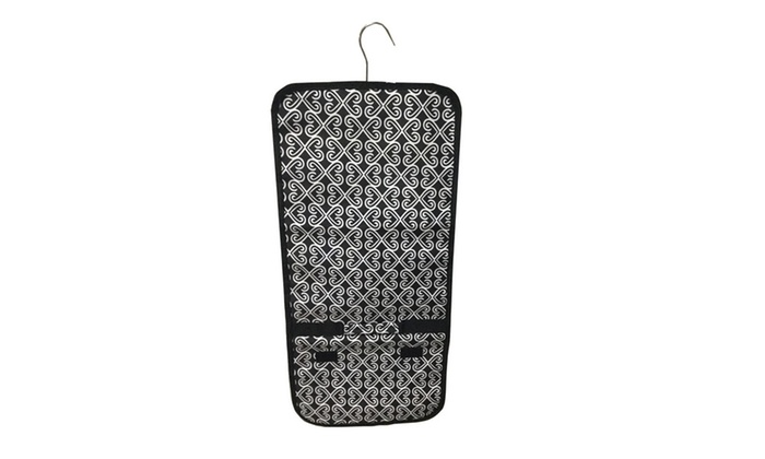 Hanging Jewelry Organizer RollUp Bag Groupon