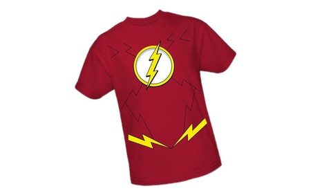 The Flash Costume - DC Comics - The New 52 Adult T-Shirt 00420f37-6d39-4704-8e71-8caa35e0d2cd