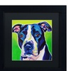 DawgArt 'Sadie' Matted Black Framed Art