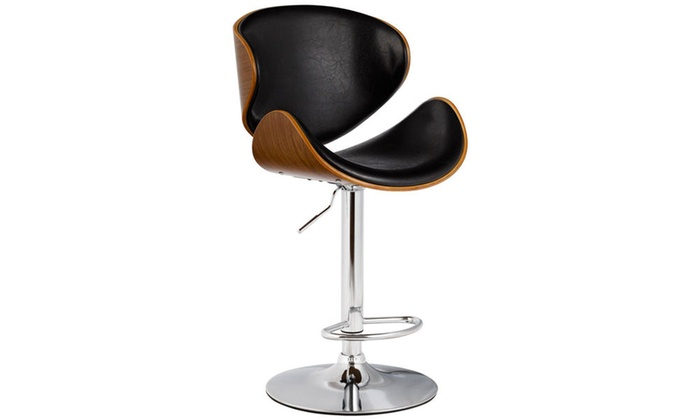 Marvelous Up To 34 Off On Costway Adjustable Bar Stool Groupon Goods Unemploymentrelief Wooden Chair Designs For Living Room Unemploymentrelieforg