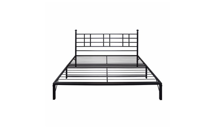 Best Price Mattress Model L Easy Set-up Steel Platform Bed Frame ...
