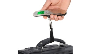 Digital Stainless Steel Hanging Luggage Scale with LCD Display