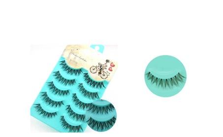5 Pairs Makeup Handmade False Eyelashes Eye Lashes 901d63d8-4b49-47a4-8bd5-8f72978792ea