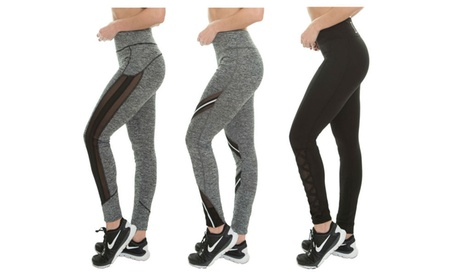 Fit Republic Women's Performance Assorted Active Leggings (3 Pack) 588e6448-624d-459f-9e70-30abab15a6c1