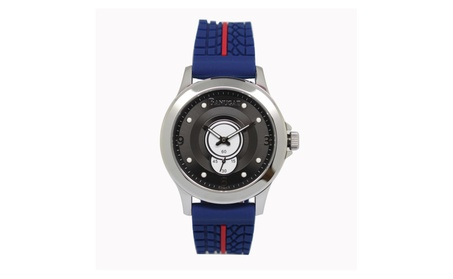 Fashion Men Stainless Steel Watch Analog Quartz Movement Wrist Watch 1e65630c-38e2-4244-b6d4-e0476b546379