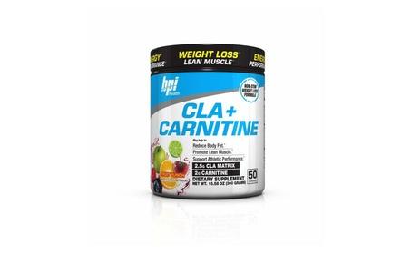 BPI Health CLA Carnitine Non-Stimulant Weight Loss Supplement, 300g