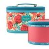 Jacki Design Miss Cherie 2 Pc Train Case - Blue
