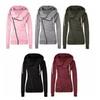 Womens Cotton Sport Hoody Hoodie Sweater Jumper Coat