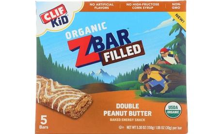 CLIF KID ORGANIC DOUBLE PEANUT BUTTER Z-BAR ( 8 - 5/1.06OZ )