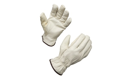 AMMEX Unlined Leather Driver Work Gloves 161d9bbe-1129-48ad-a7ab-513294d00fd7