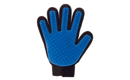 True Touch Deshedding Glove For Gentle Efficient Pet Dog Cat 706363b0-5069-4be1-be96-e46c13d935f1