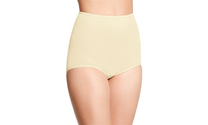 b05efdc308b Bali 2633 Skimp Skamp Brief Panties Moonlight - Size 11 Yellow One Size