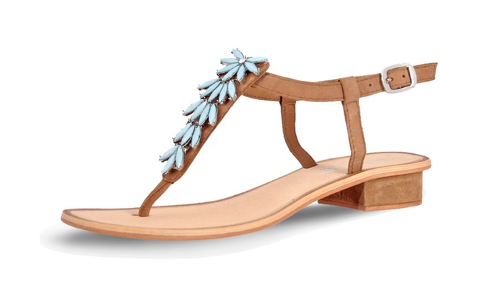Turquoise Bay Tan/Turquoise size 9